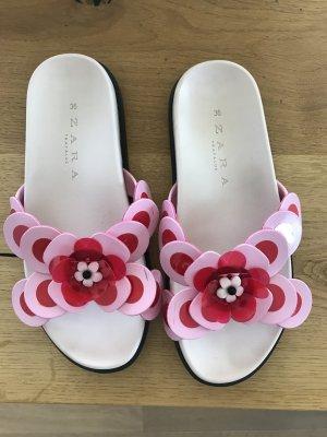 Flache Sandale von Zara