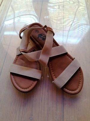 Kein Sandales confort brun-beige