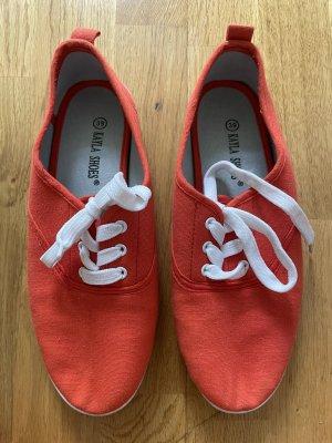 Flache Schuhe Größe 39 rot