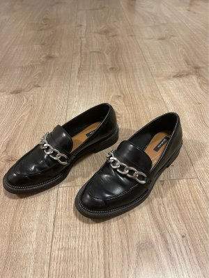 Flache Schuhe Oxford Loafers