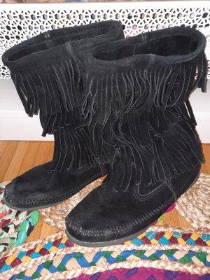 Minnetonka Botas del desierto negro