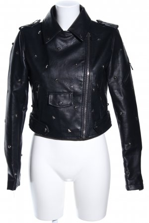 Flamant Rose Collection jacke schwarz Casual-Look