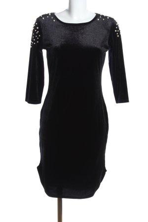Flamant Rose Collection Langarmkleid schwarz Elegant