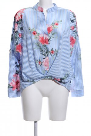 Flamant Rose Collection Schlupf-Bluse Blumenmuster Casual-Look