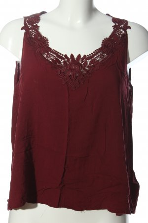 Flame Blusentop rot Casual-Look