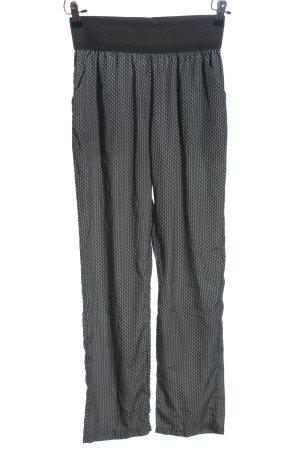 Flame Baggy Pants schwarz-hellgrau meliert Casual-Look