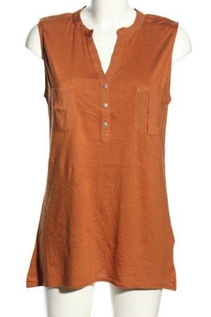 Flame Haut basique orange clair style d'affaires