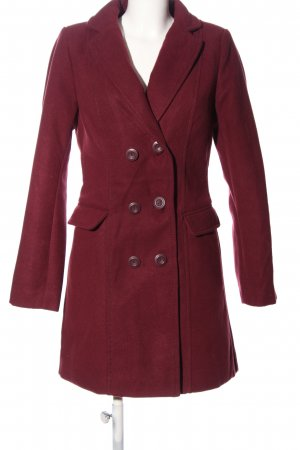 Flame Manteau long rose style d'affaires