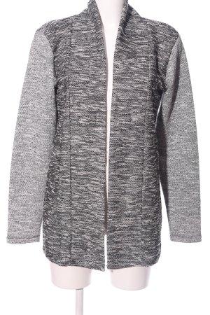 Flame Cardigan grigio chiaro puntinato stile casual