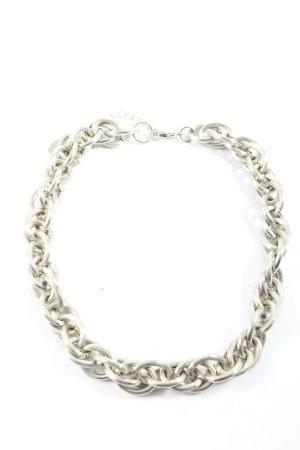 Flame Collar estilo collier color plata estilo fiesta