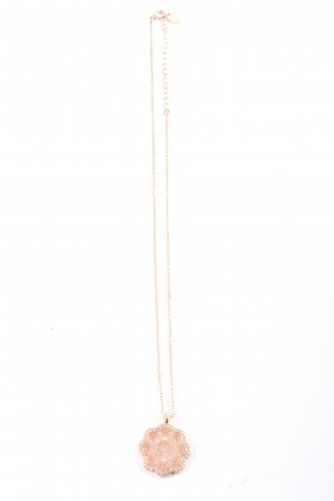 Flame Collar estilo collier rosa-color oro look casual