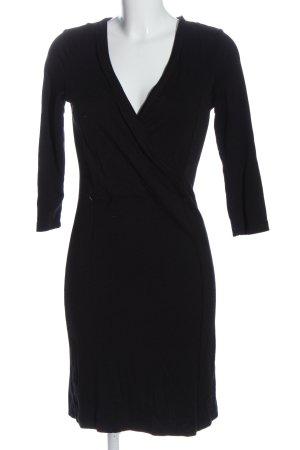 Flame Sukienka etui czarny W stylu casual