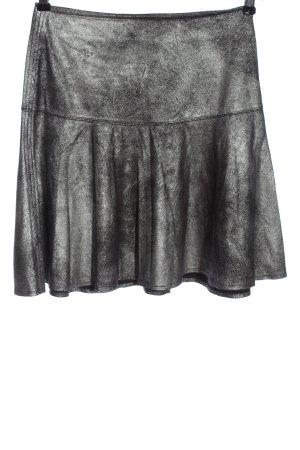 Flame Rozkloszowana spódnica jasnoszary W stylu casual