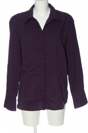 Flame Hemd-Bluse lila Casual-Look