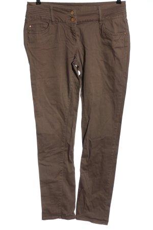 Flame Jeansy z wysokim stanem brązowy W stylu casual