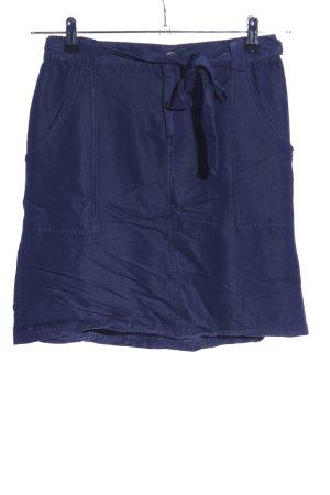 Flame Jupe taille haute bleu style décontracté