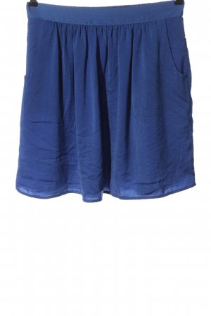 Flame High Waist Skirt blue casual look