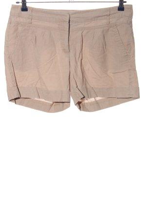 Flame High-Waist-Shorts braun Casual-Look