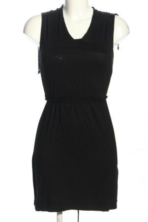 Flame Jerseykleid schwarz Casual-Look
