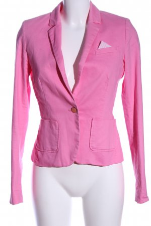 Flame Korte blazer roze casual uitstraling