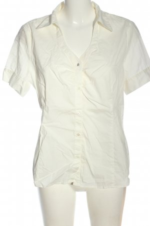 Flame Camisa de manga corta crema look casual