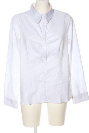 Flame Camisa de manga larga blanco estilo «business»