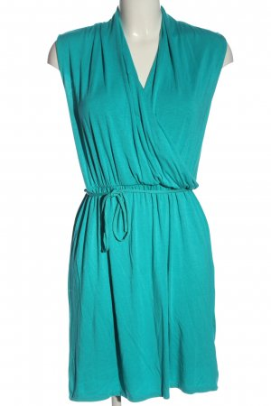 Flame Robe courte turquoise style décontracté