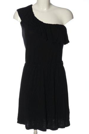 Flame Robe courte noir style décontracté