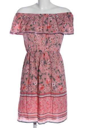 Flame Sukienka mini Na całej powierzchni W stylu casual