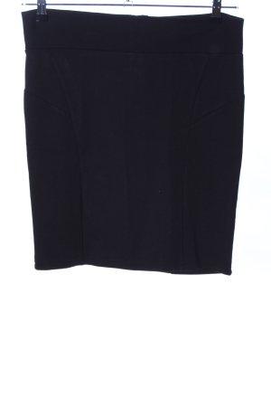 Flame Mini-jupe noir style d'affaires