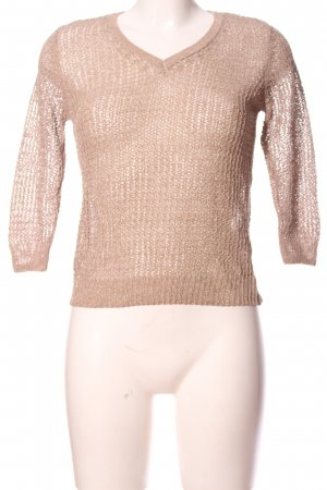 Flame Strickpullover creme Casual-Look