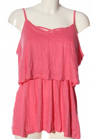 Flame Schlupf-Bluse pink Casual-Look