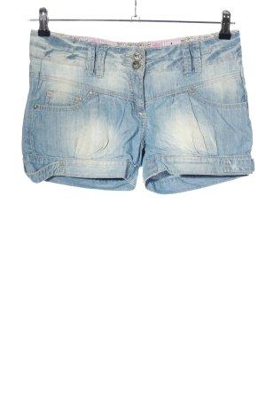 Flame Shorts blau Casual-Look