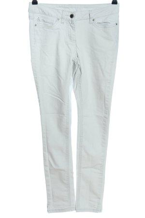 Flame Skinny Jeans blau Casual-Look