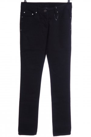 Flame Skinny Jeans schwarz Casual-Look