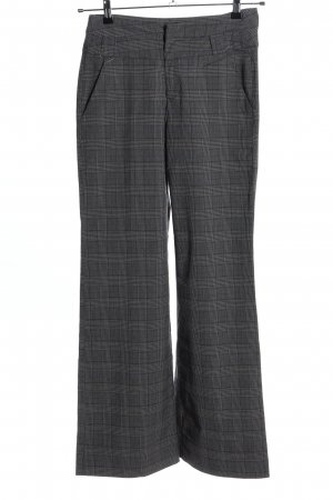 Flame Jersey Pants light grey check pattern casual look