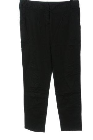 Flame Pantalon en jersey noir style décontracté