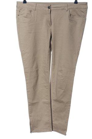 Flame Pantalon en jersey kaki style décontracté