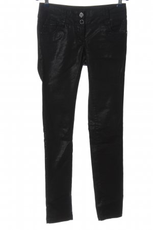 Flame Stoffhose schwarz Casual-Look