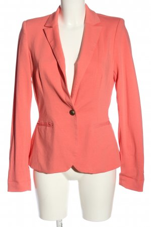 Flame Knitted Blazer pink casual look