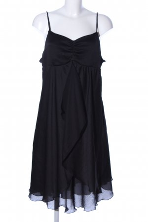 Flame Trägerkleid schwarz Elegant