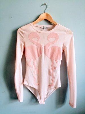 Flamingo body suit S NEW