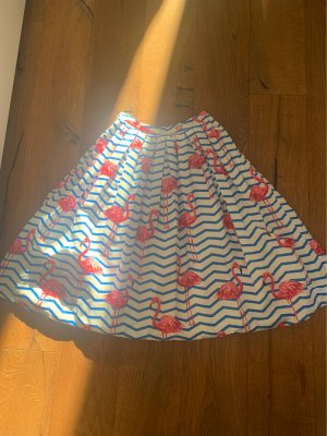 Chicwish Plaid Skirt white-blue