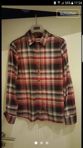 Barbour Camicia blusa nero-rosso scuro