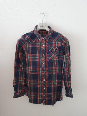 Camisa de franela multicolor