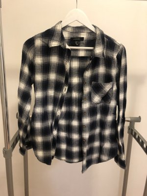 Atmosphere Flannel Shirt white-blue