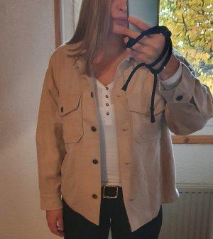 FRESHLIONS Camisa de franela beige