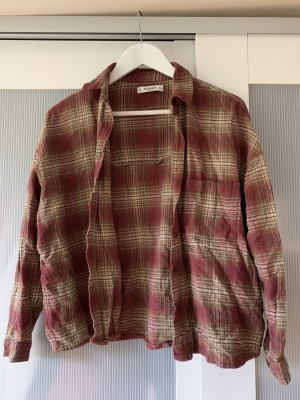 Pull & Bear Camisa de franela multicolor