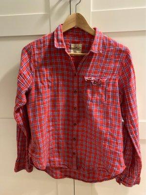 Flanellhemd, Holzfällerhemd, pink kariert