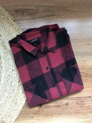 Flanellhemd in Holzfälleroptik von Monki